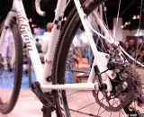 Avid BB7 SL Road Mechanical Disc Brakeset / SRAM HSX Rotors on the Alchemy rig at NAHBS 2013. © Lance Barry