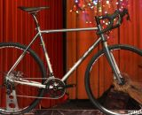 All-City Cycles' brand new Reynolds 853 Macho King will feature SRAM 11-speed components, Zipp Service Course cockpit, and Hayes CX Expert disc brakes. © Cyclocross Magazine