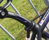Arley Kemmerer relies on Specialized's Zertz-equipped Specialized Pave Pro SL seatpost. © Cyclocross Magazine