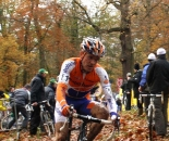 Bart Aernouts racing at the Superprestige Gavere. ? Dan Seaton