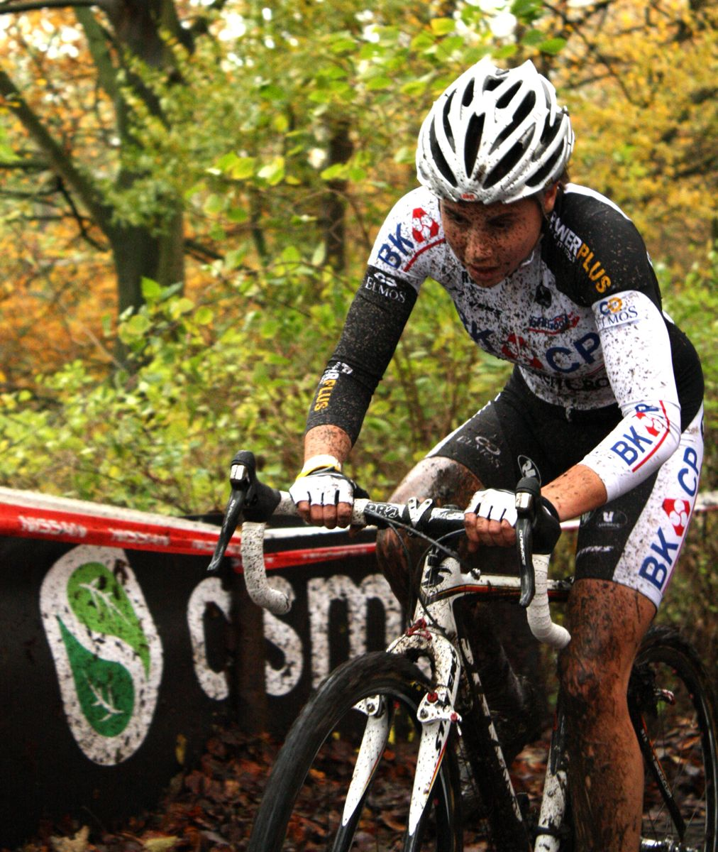 Sanne Cant continued a season of excellent results. ? Dan Seaton