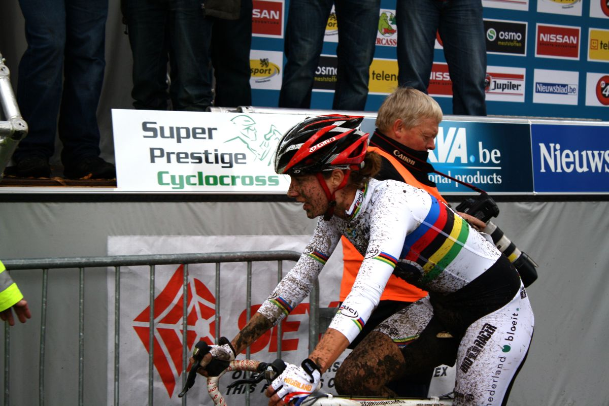 Vos appeared to be happy with her efforts. ? Dan Seaton