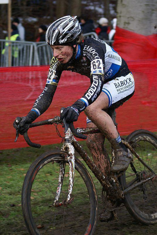 Gianni Denolf in the Fidea Cyclocross Tervuren © Marc van Est
