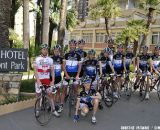 A BABOCO group ride at training camp © Christine Vardaros
