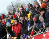 The crowd at Junior Men at 2012 Worlds © Bart Hazen