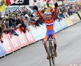 Mathieu van der Poel takes his first ever World title © Bart Hazen