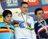 Junior Men at 2012 Worlds Podium © Bart Hazen
