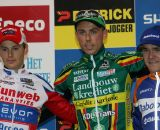 Pauwels, Nys and Aernouts on the podium.© Bart Hazen
