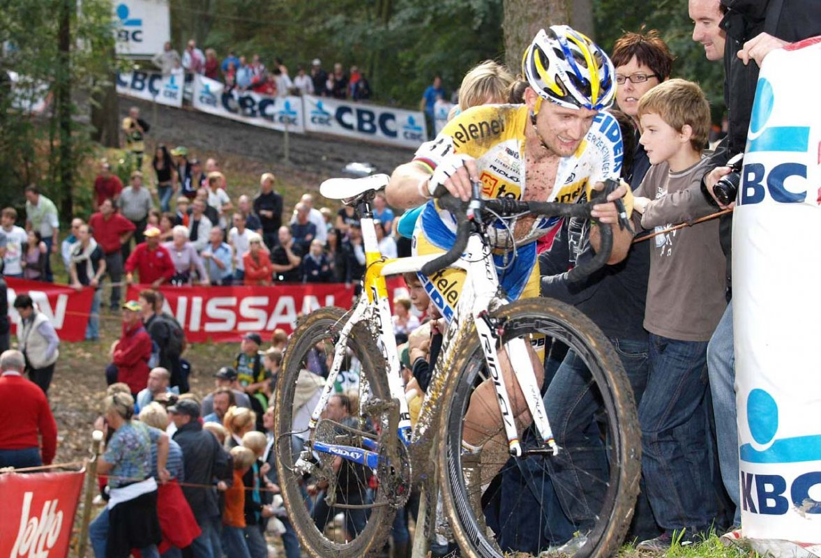 Wellens wants to be a contender against the best in the world for a few more years. © Jonas Bruffaerts