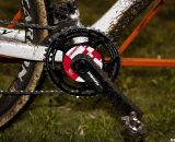Bart Wellens used a SRM-equipped crankset on his Ridley X-Night to record his early-season power numbers.  © Cyclocross Magazine