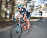 Hup United's Chip Lomas had a fast last lap in the men's B race. ?Cyclocross Magazine