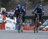 A photo finish: Kemmerer takes second from Van Gilder at the line. © Todd Prekaski