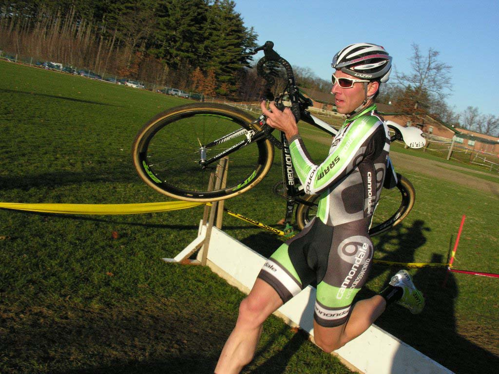 Powers in control. Baystate Cyclocross, Day 1. ? Paul Weiss