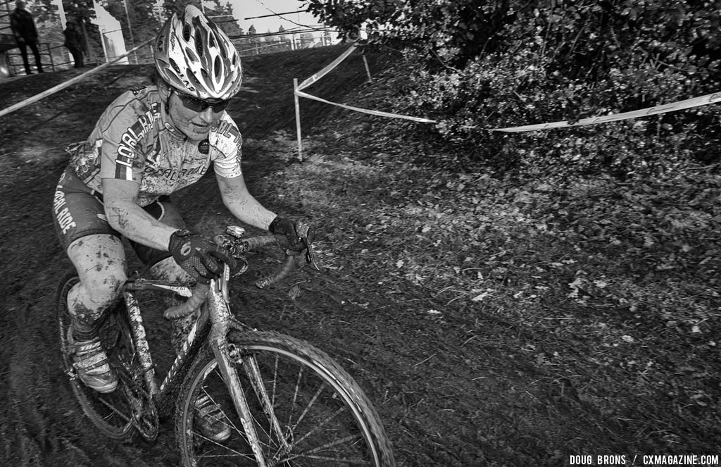 Sandra Walter (Local Ride)  on her way to 2nd place. © Doug Brons