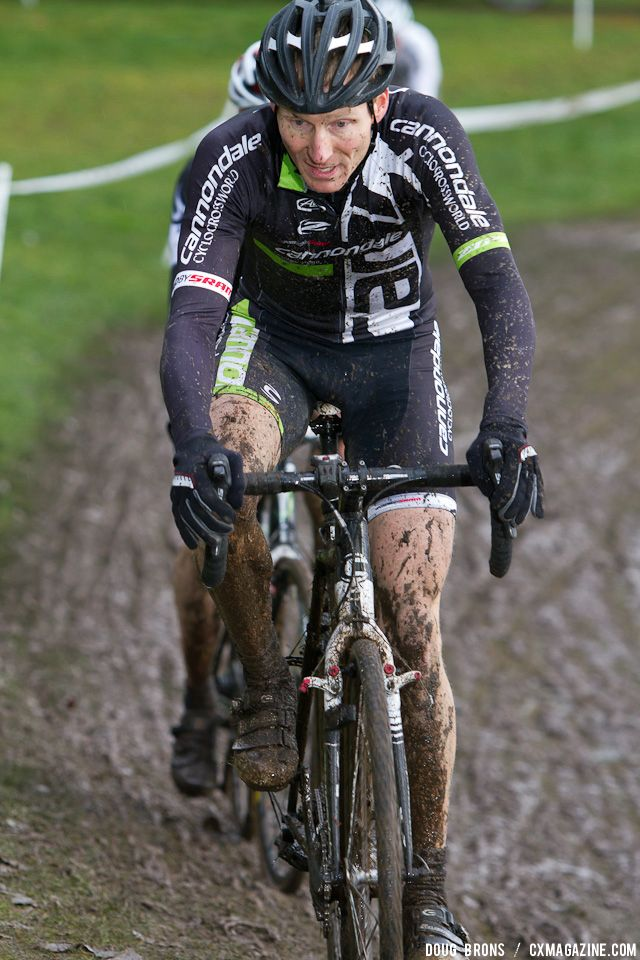 Bob Wellbourn (Cannondale-Cyclocrossworld) Masters 40-49 Champion. © Doug Brons