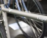 It looks titanium but it's below the Lupo. Bianchi 2014 Lupo. © Cyclocross Magazine