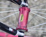 Mavic's Helium wheels set the bench mark for pre-built lightweight tubulars when they came out in 1996. © Cyclocross Magazine