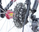 Haley matches a 34 tooth single front ring with a 12-27 rear cassette. © Cyclocross Magazine