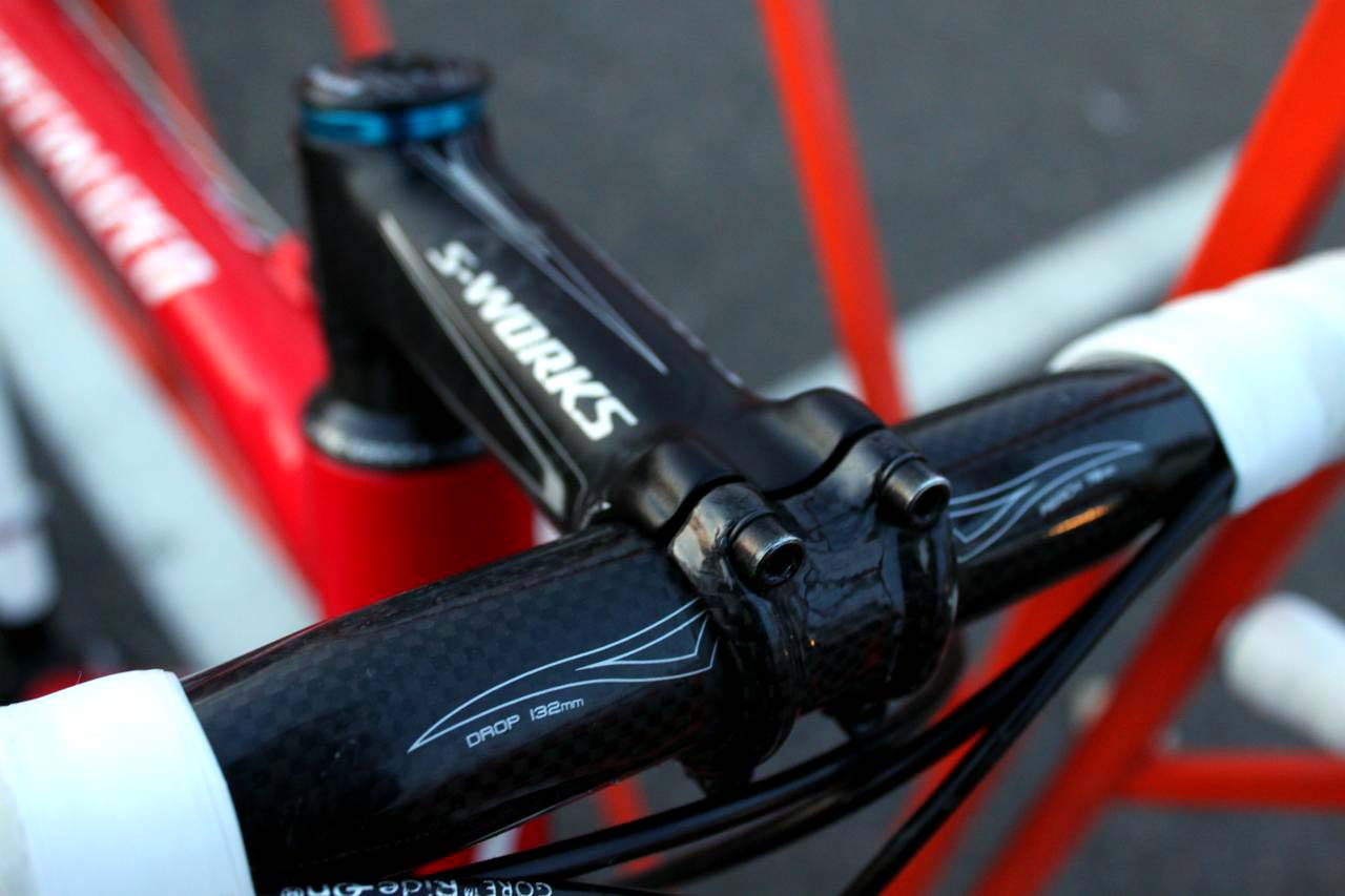 Specialized provides a lot more than the frame for Wells. ? Cyclocross Magazine
