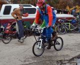 Super Mario at Bilenky Junkyard Cross. © Cyclocross Magazine