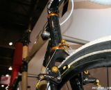 Boo's new head tubes are all carbon. ©Cyclocross Magazine