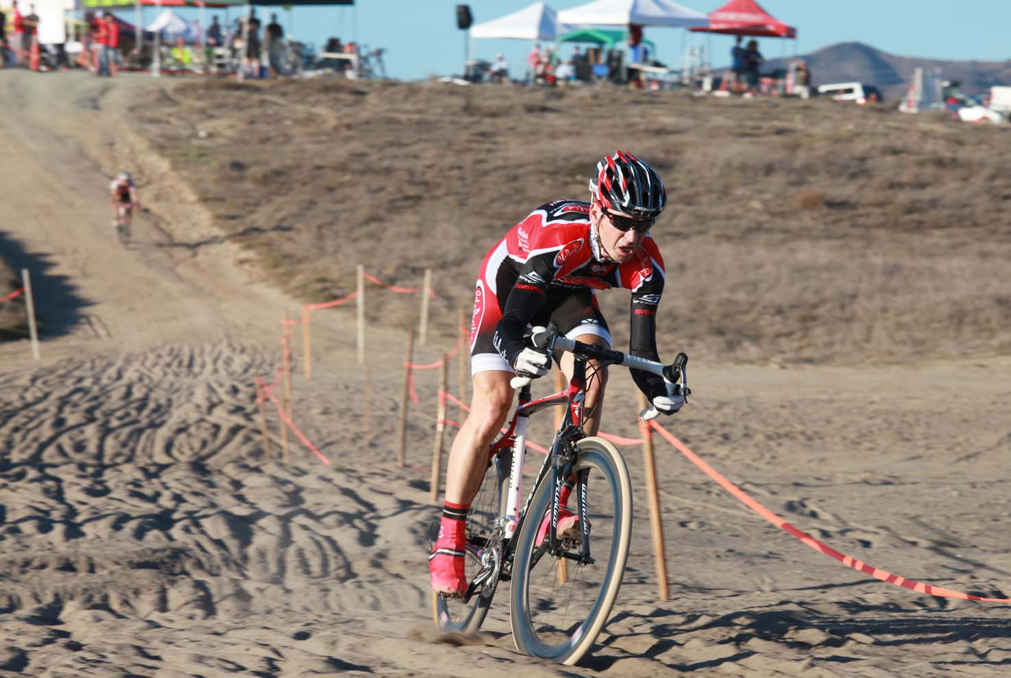 Could cyclocross storm the beaches of San Diego? We won't hold our breath but Brent Prenzlow can hope. © Richard Murphy