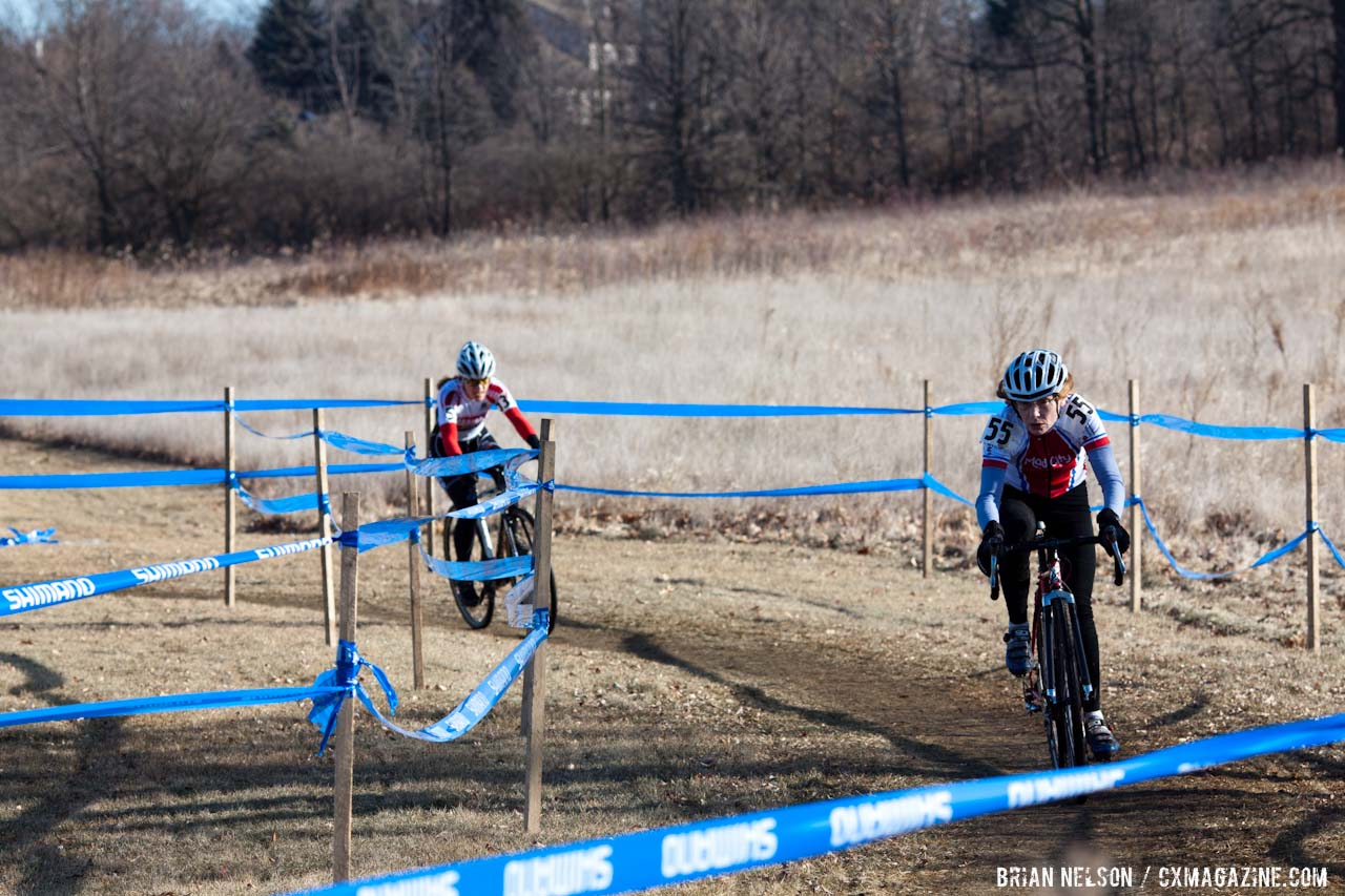 Mellisa Behr took the mud well. ©Brian Nelson