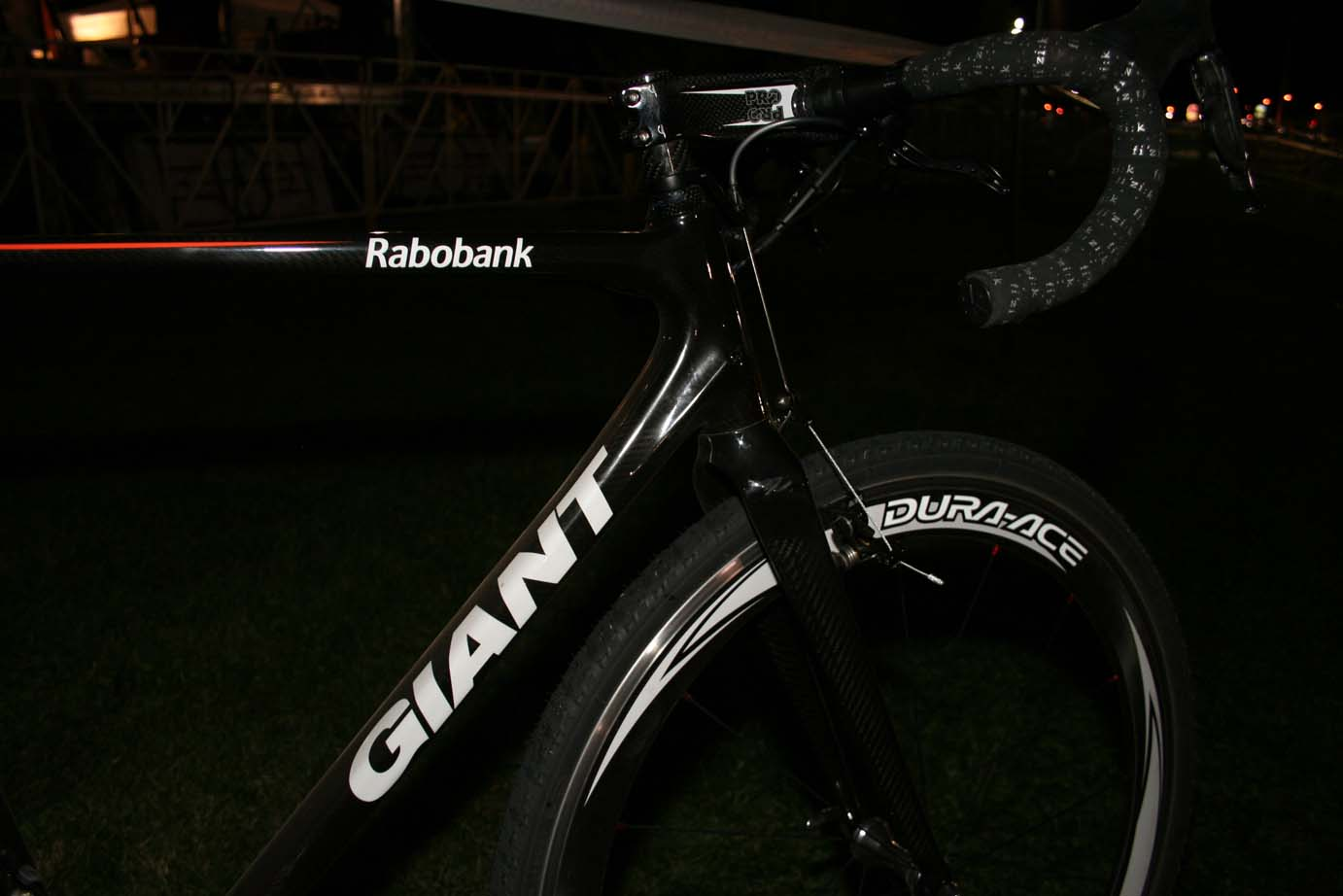 Craig's bike had Rabobank decals on it, indicating it will be the bike of choice for Lars Boom & co. by Andrew Yee