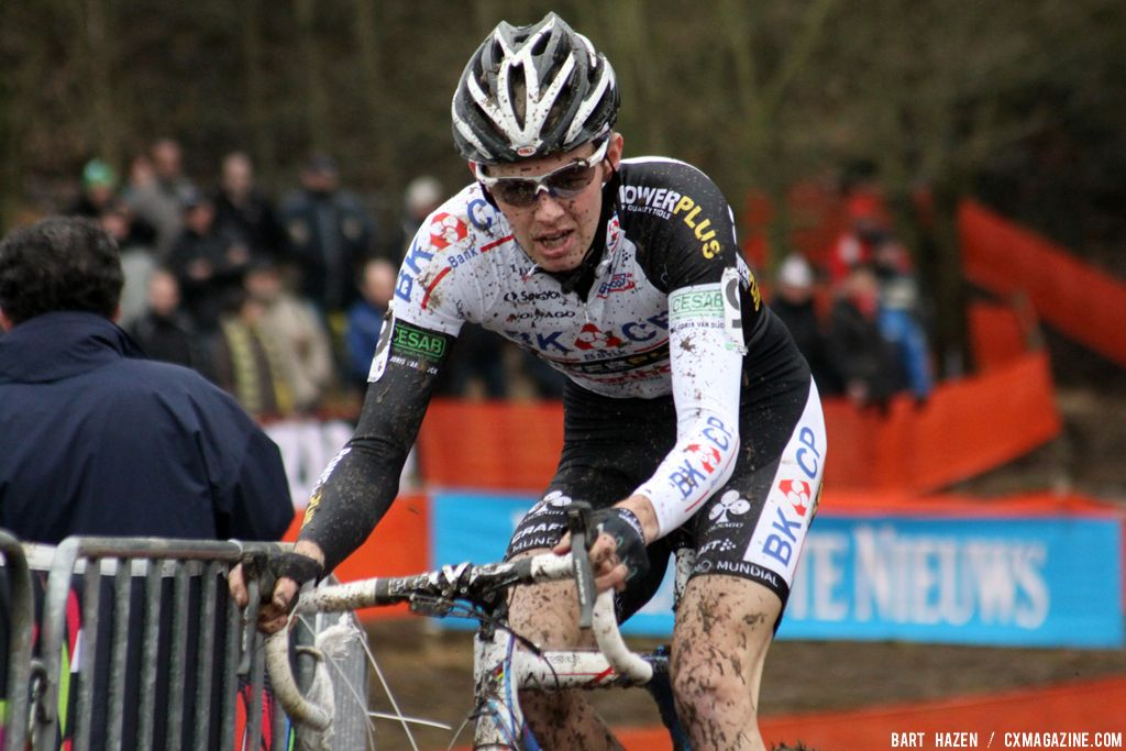 Diether Vanthourenhout at Cauberg Cyclocross. © Bart Hazen