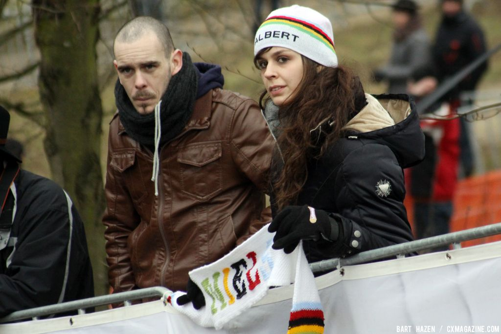 Niels Albert fans at Cauberg Cyclocross. © Bart Hazen