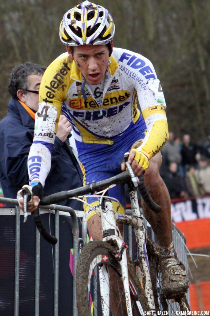 Tom Meeusen at Cauberg Cyclocross. © Bart Hazen