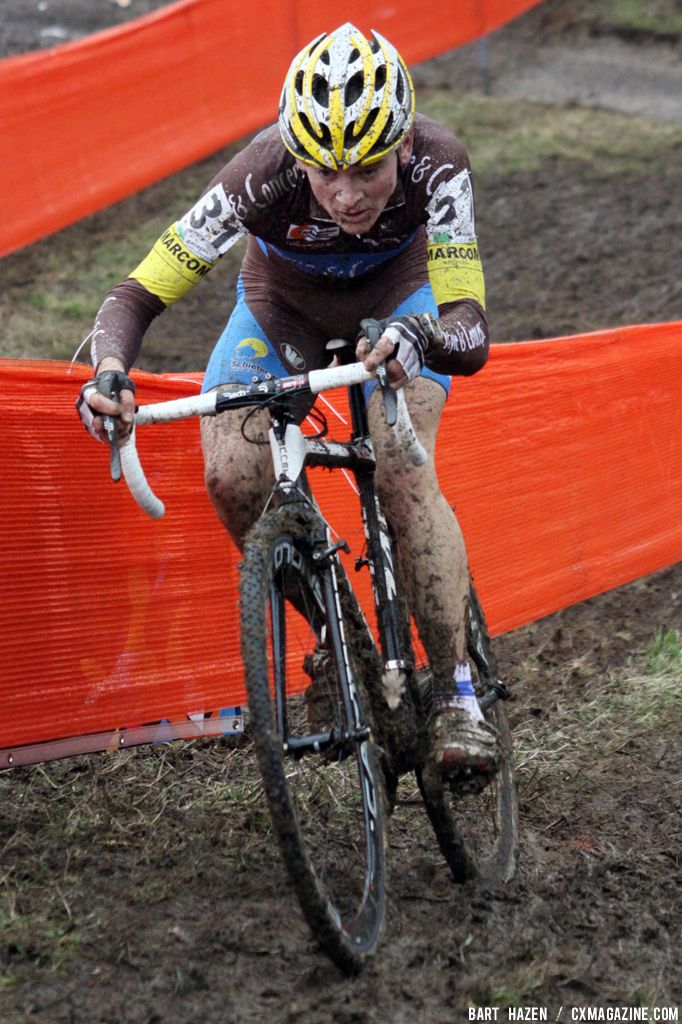 Kenneth van Compernolle at Cauberg Cyclocross. © Bart Hazen