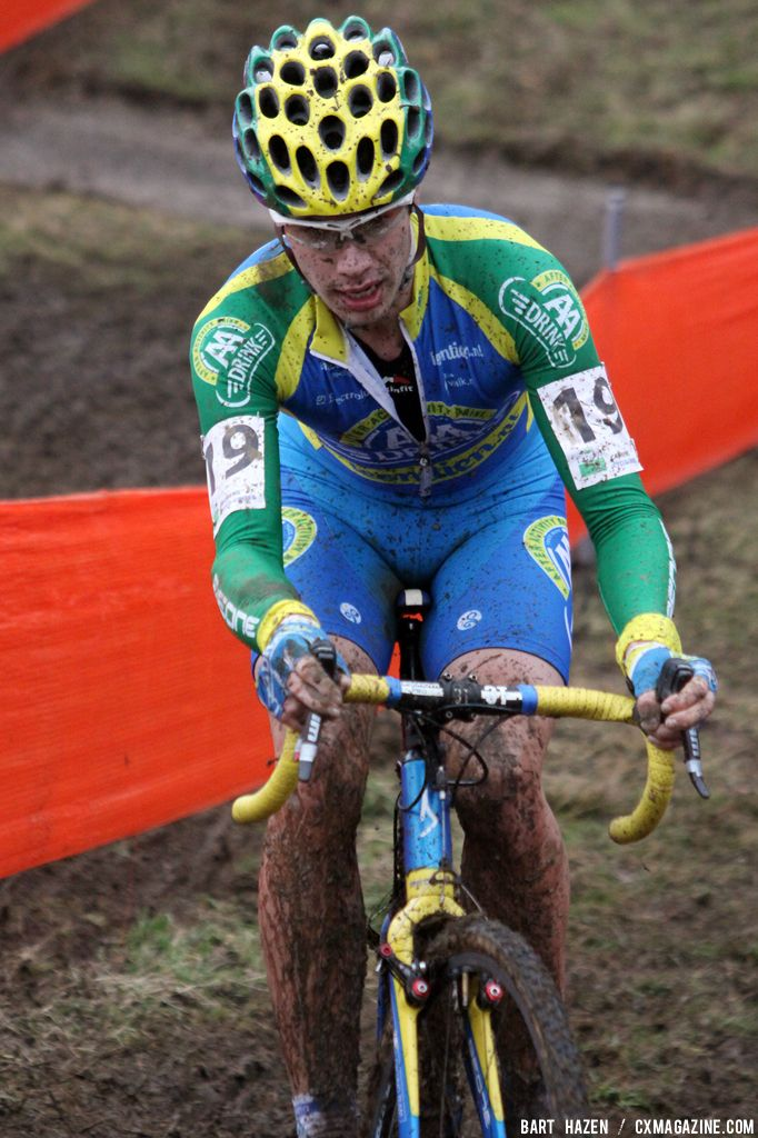 Tom Van den Bosch at Cauberg Cyclocross. © Bart Hazen
