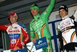 Podium at Cauberg Cyclocross. © Bart Hazen