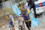 Arnaud Grand at Cauberg Cyclocross. © Bart Hazen