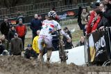 Helen Wyman at Cauberg Cyclocross. © Bart Hazen