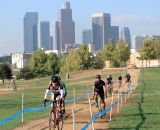 The Los Angeles State Historic Park was formerly the main rail hub for the city of Los Angeles. Now it's being railed around on cyclocross bikes. It was a record-breaking day for the SoCalCross Series in terms of rider entries (for the second weekend in a row). Total count: 558.© Phil Beckman/PB Creative