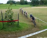 Van Gilder leading the chase group.  © Cyclocross Magazine
