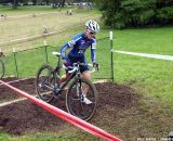 Gabby Day on the stairs.  © Cyclocross Magazine