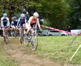 The chase group behind Van Gilder.  © Cyclocross Magazine