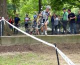The natural barriers provided a challenge for all the racers, especially the shorter ones! © Vinny Agnello