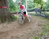 McNicholas rounds the tree. © Cyclocross Magazine