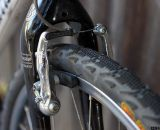 Budget Tektro 926AL mini V-brakes provide stopping power for less than $13 per wheel. ©Cyclocross Magazine