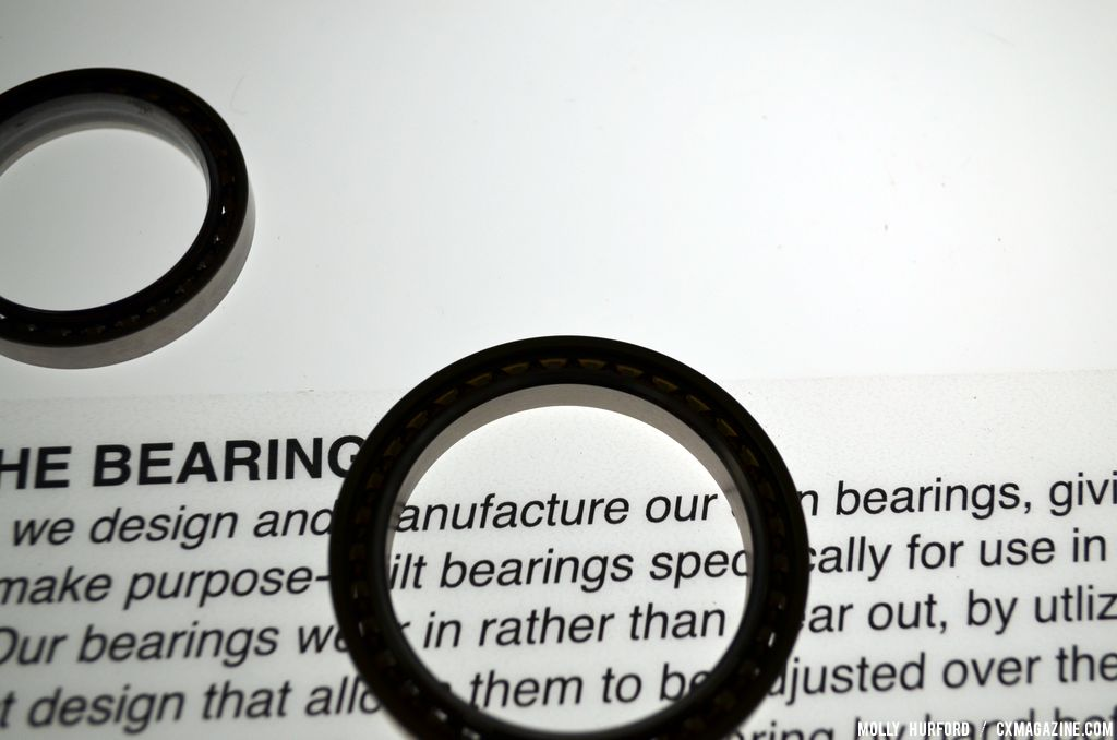 A look at the famed bearings in Chris King\'s factory museum. © Cyclocross Magazine