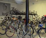 The bike room for commuters. © Cyclocross Magazine
