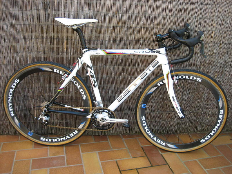 Ready to race: The Zannata Cross carbon bike, the same as Vervecken's. One change is that Vardaros will ride Echappe's Classics wheels this season.