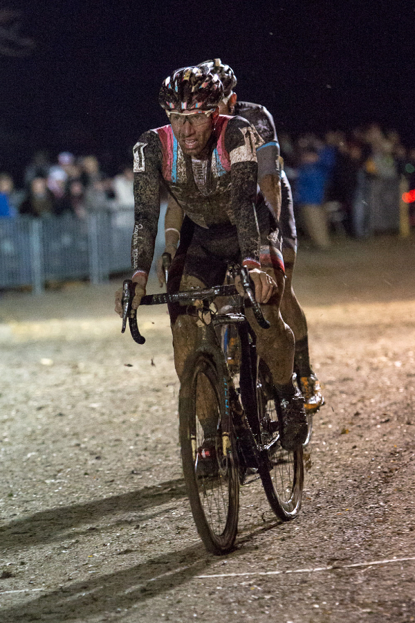 A muddy Powers rolls in at Kings CX After Dark.