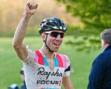 Jeremy Powers wins by twelve seconds over Ryan Trebon ©Jeffrey Jakucyk