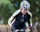 Kerry Barnholt takes a dominant win and the leader's jersey. ©Tim Westmore