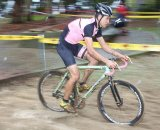 Who needs aero brake levers when you've got deep section rims and are riding in the sand? © Cyclocross Magazine